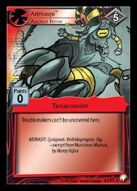 My Little Pony Arimaspi, Ancient Terror Equestrian Odysseys CCG Card