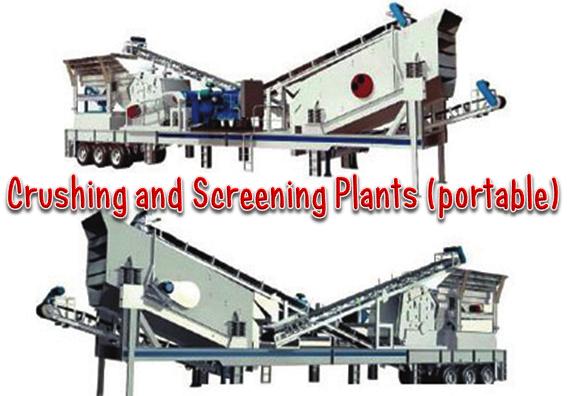 Fungsi Alat Crushing and Screening Plants (portable)