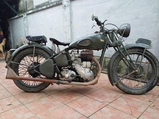 BURSA MOTOR TUA : Jual BSA M20 orsl 500cc tahun 1941
