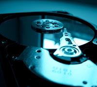 Disco duro con colección de datos