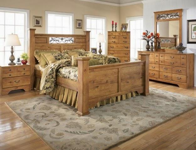 habitación estilo country