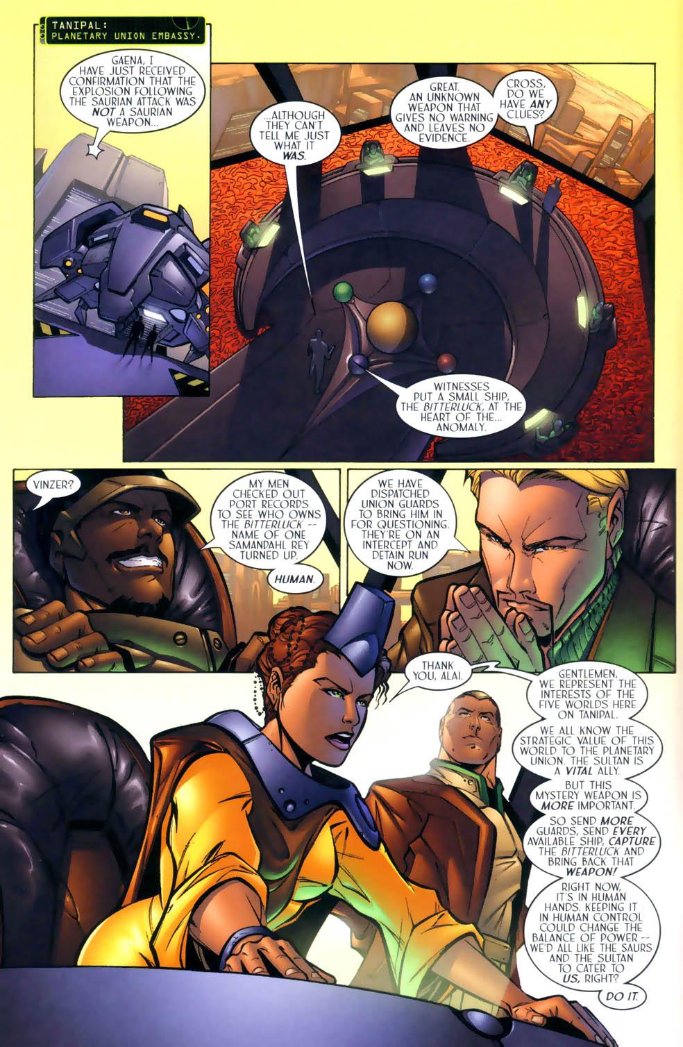 Read online Sigil (2000) comic -  Issue #2 - 7