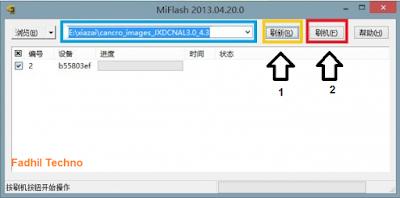 Cara Flash Rom Xiaomi Mi 4 Dengan Mudah