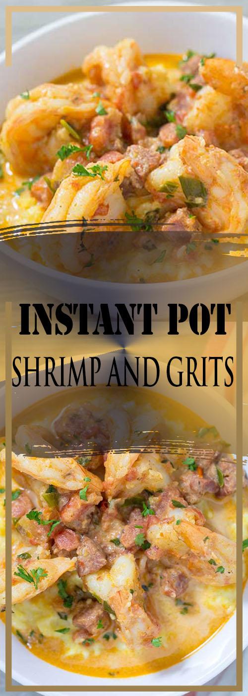 INSTANT POT SHRIMP AND GRITS RECIPE