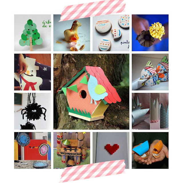 10 blogs de manualidades con niños