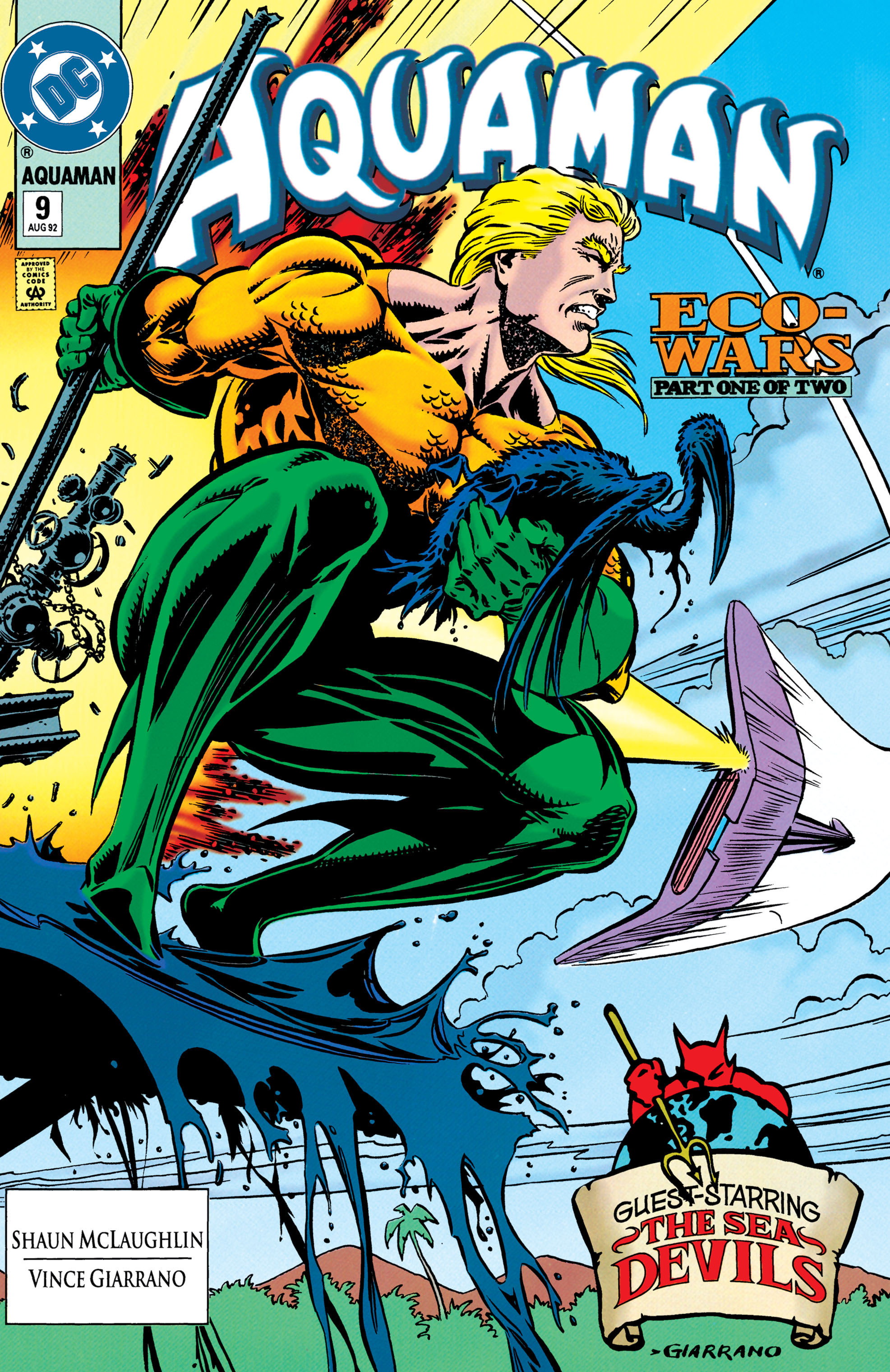 Aquaman (1991) 9 Page 1