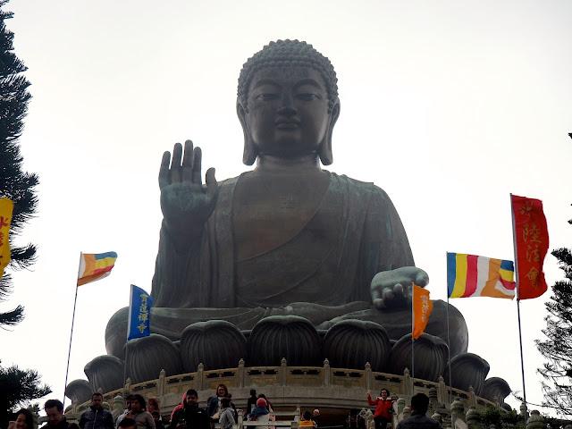 Big Buddha / Tian Tan Buddha statue at Ngong Ping, Lantau Island, Hong Kong
