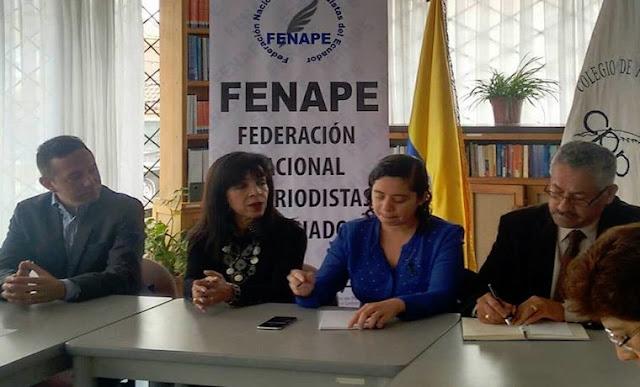 Federación de Periodistas para América Latina y el Caribe manifestó apoyo a comunicadores venezolanos