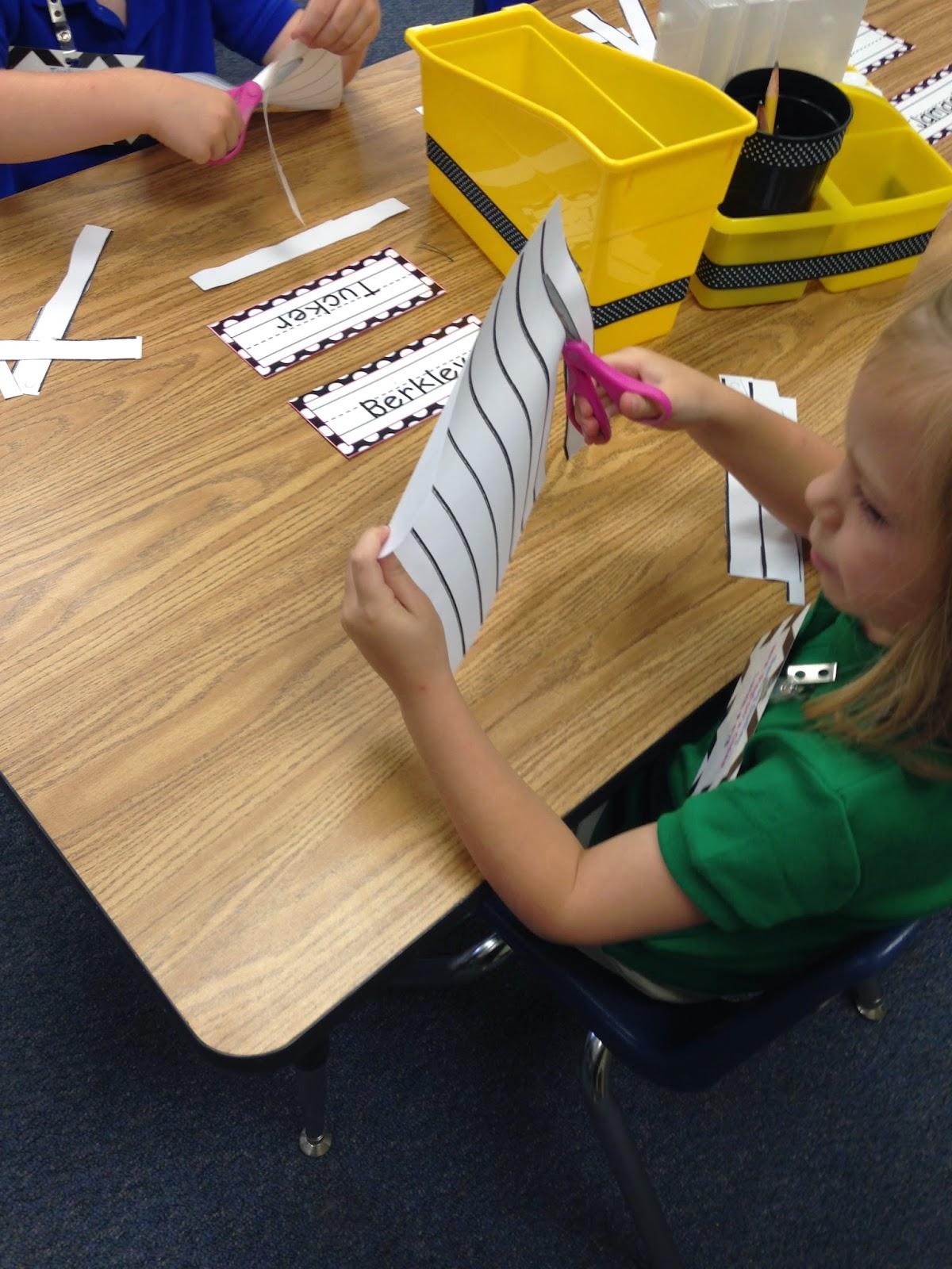 Mrs Payton S Precious Kindergarteners Cutting Practice