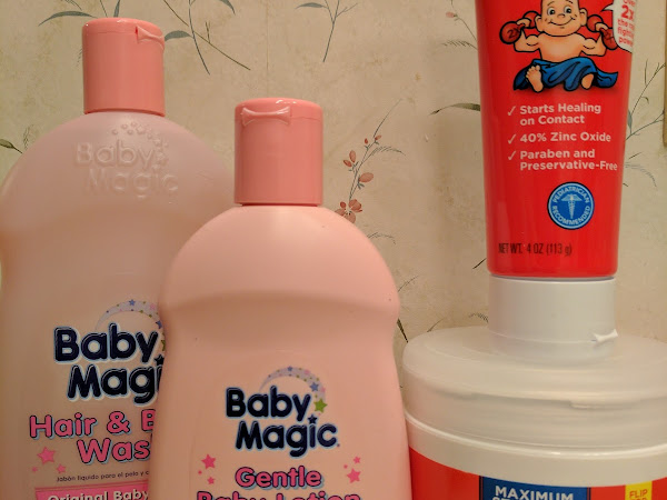 Bath Time Perfection: Baby Magic and Boudreaux's Butt Paste #review