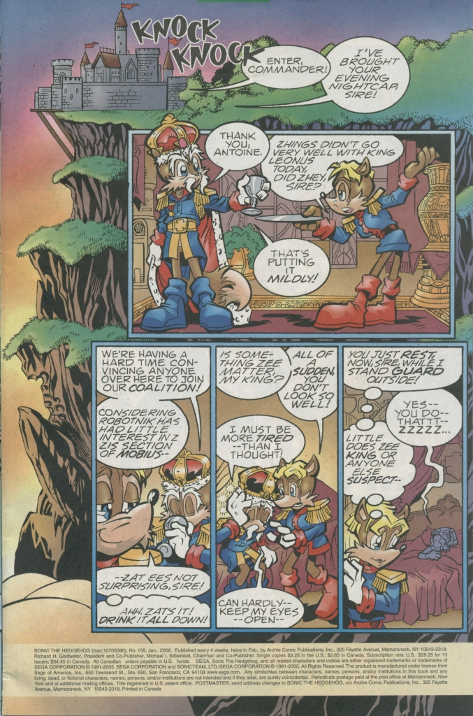 Read online Sonic The Hedgehog comic -  Issue #155 - 3