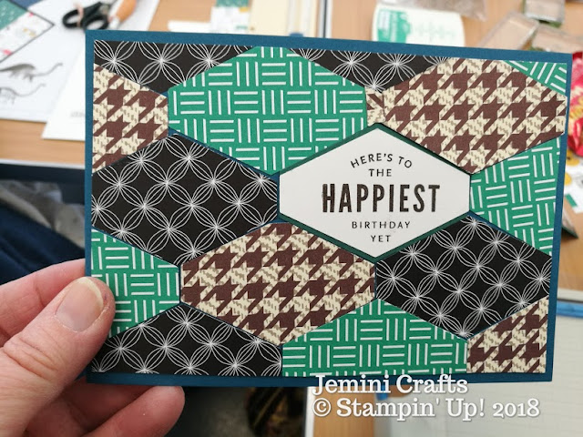 Tailored Tag Punch from Stampin Up