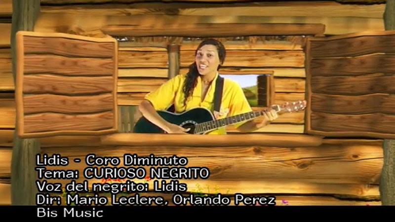 Lidis Lamorú - ¨Curioso negrito¨ - Videoclip - Dirección: Mario Leclere - Orlando Pérez. Portal Del Vídeo Clip Cubano - 01