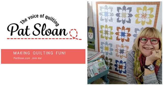 Pat Sloan The Voice of Quilting