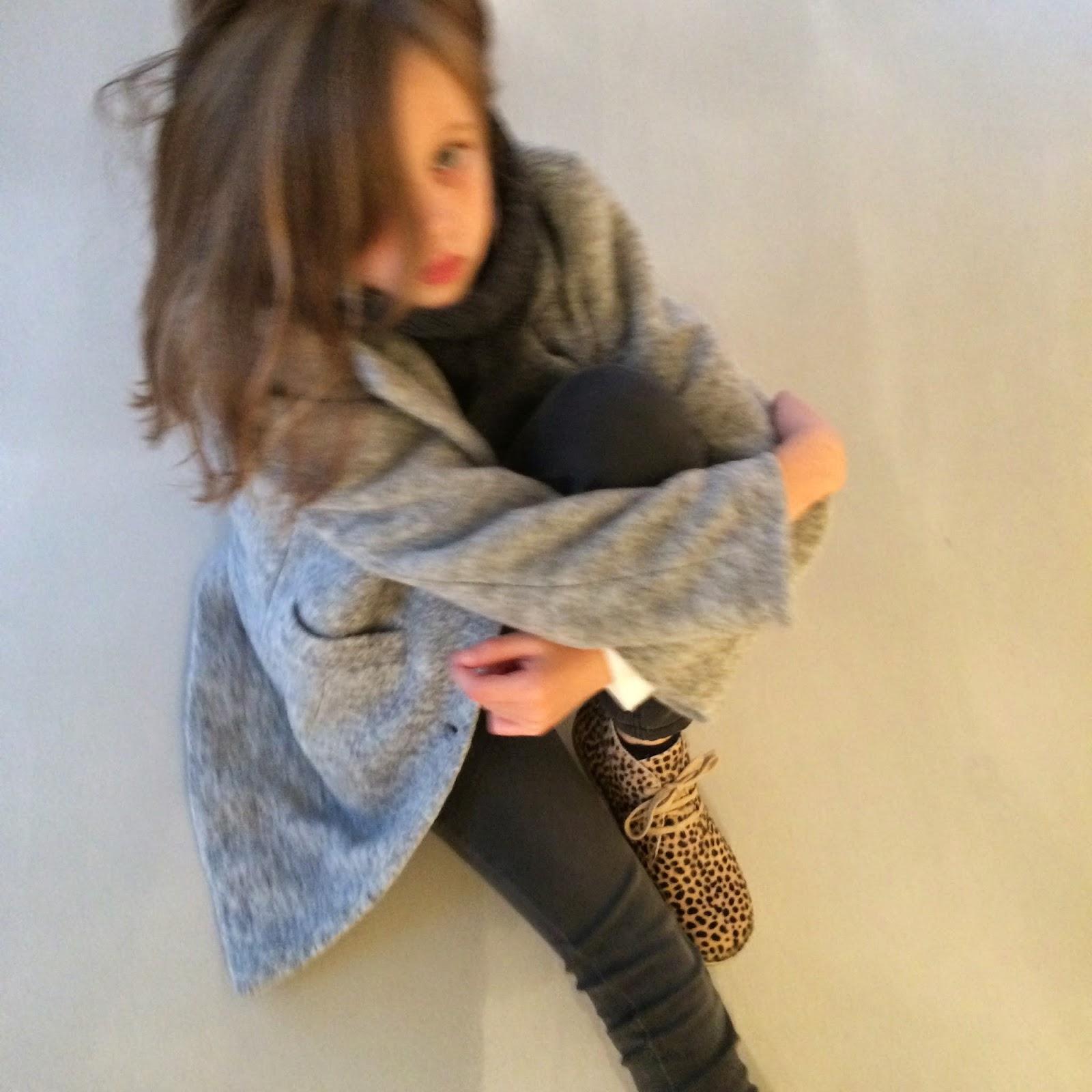 2f26791b Oversized kåpe fra Christina Rohde Jeans fra I dig denim. Hals fra Wheat