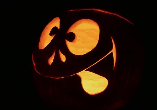 Goofball Halloween pumpkin