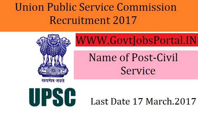 Union publice service comission