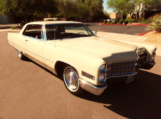 1966 Cadillac Coupe DeVille Front Right