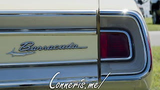 1968 Plymouth Barracuda Rear Badge