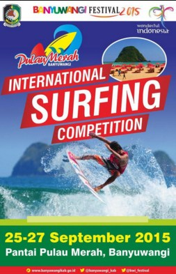 Surfing International Pulau Merah