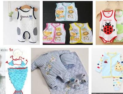 memilih baju bayi baru lahir