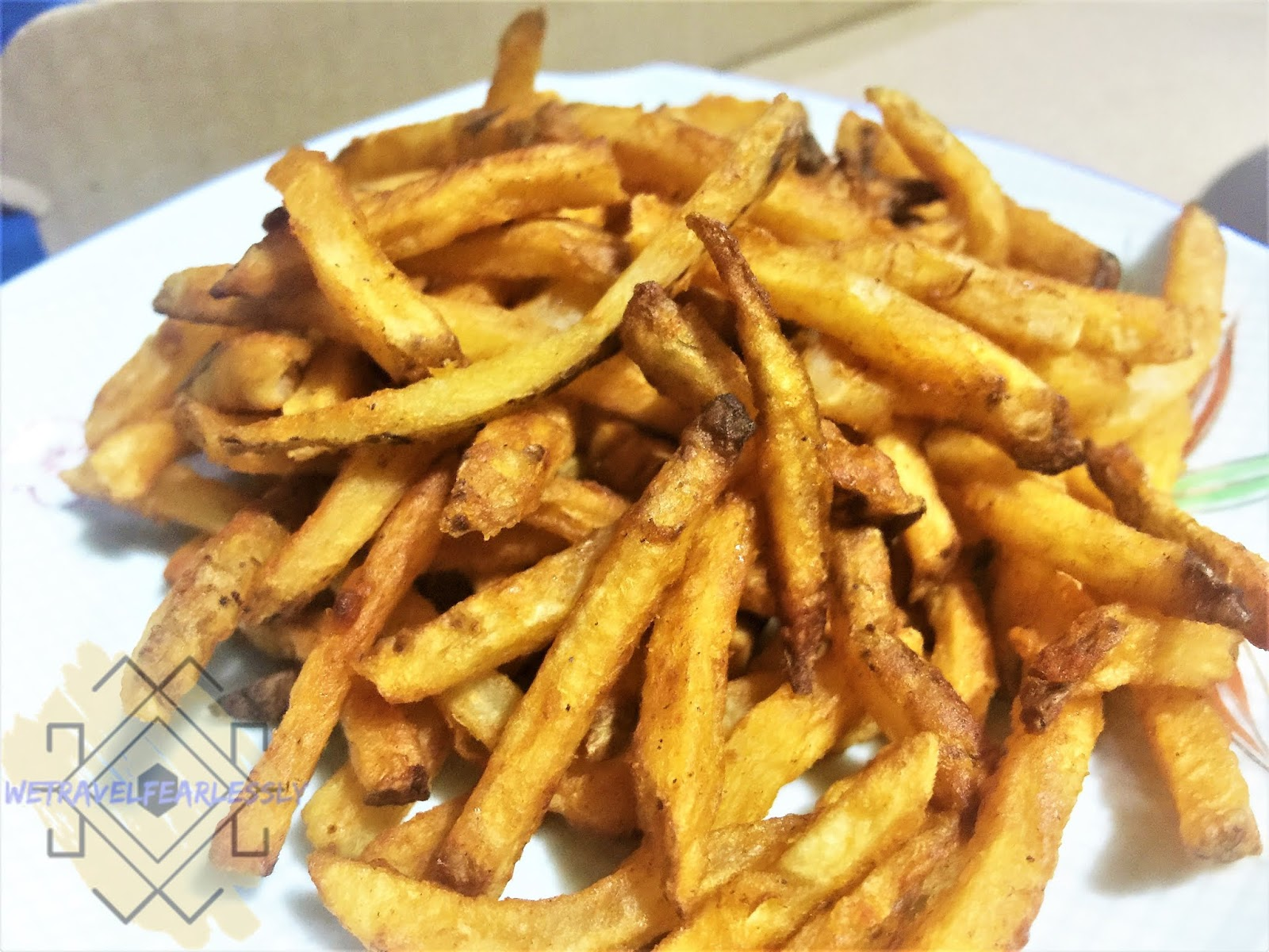 Holy Seasoned Fries (PHP85) in Angel's Pizza in San Roque, Marikina