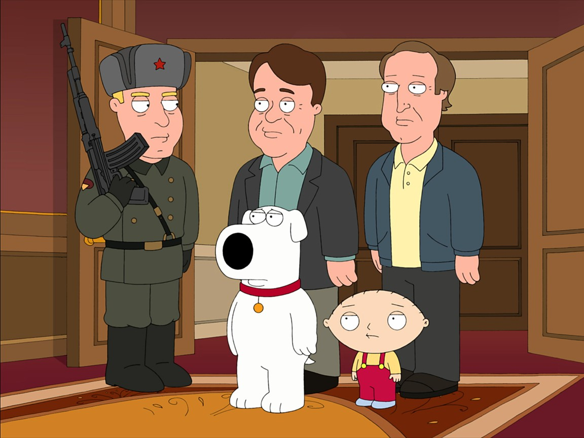 Family Guy - Season 8 Episode 3: Spies Reminiscent of Us