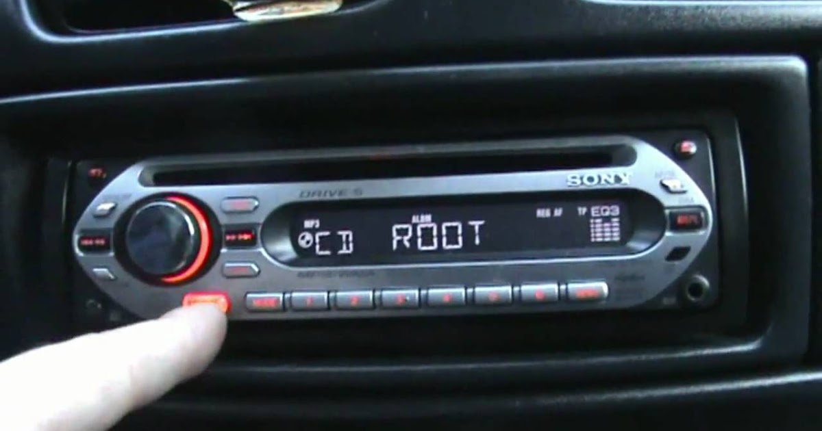 How To Reset Sony Xplod Car Stereo Back To Factory