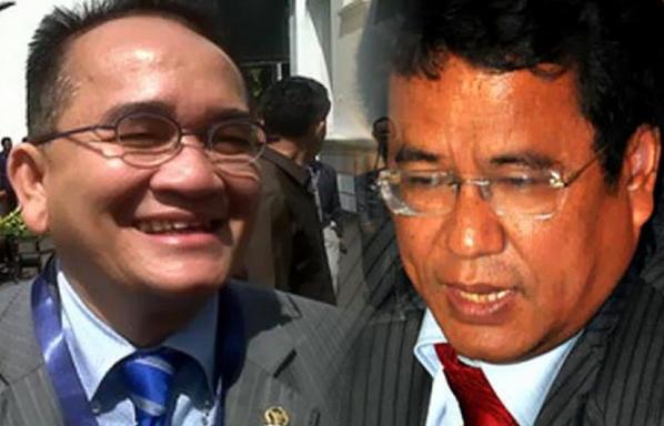 Hotman Paris : Sekarang Ruhut Memuja Jokowi, Padahal Ruhut Dulu Meremehkan Jokowi Tukang Mebel, Tidak pantas Jadi Presiden.
