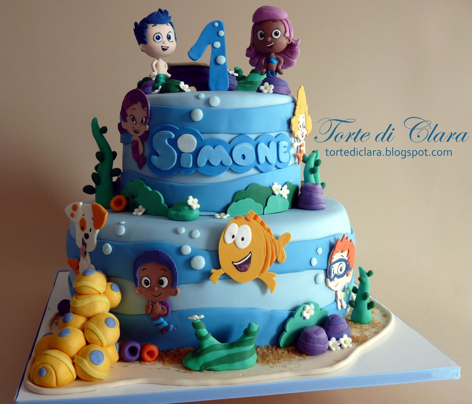 Torte Di Clara Bubble Guppies Cake
