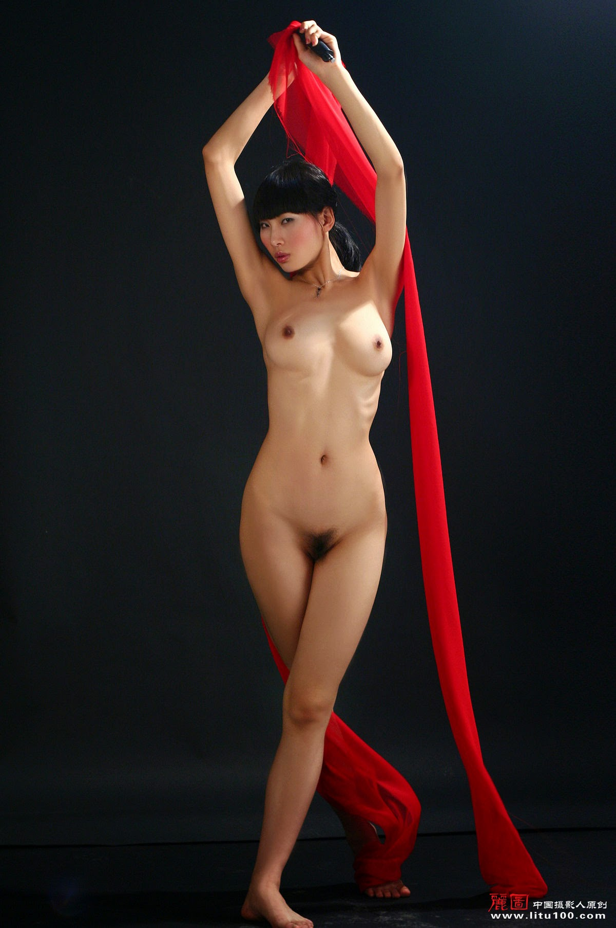litu 100 archives: Chinese Nude Model  Wei Wei  02 [Litu100]  | chinesenudeart photos