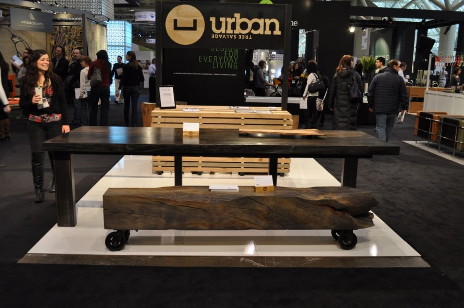 2011 Interior Design Show in Toronto : By Urban Tree Salvage