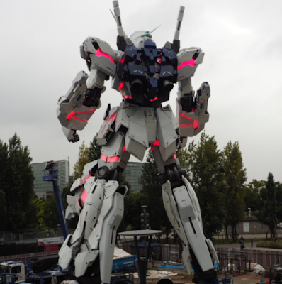 Robot Gergasi Unicorn Gundam Bakal Menemui Peminat Di Odaiba September Ini