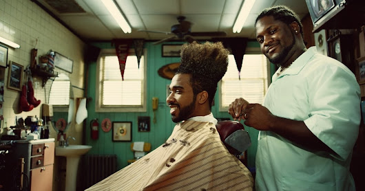 Apple iPhone BarberShop Commercial Featuring The Song 'Fantastic Man' by William Onyeabor