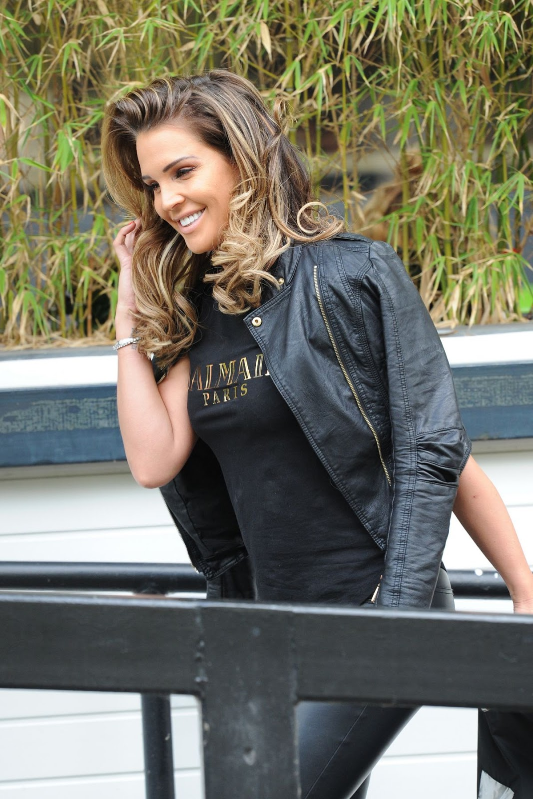 HD Photos of Ex Miss England Danielle Lloyd At Itv Studios In London
