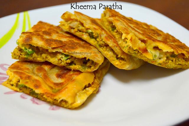 Kheema Paratha