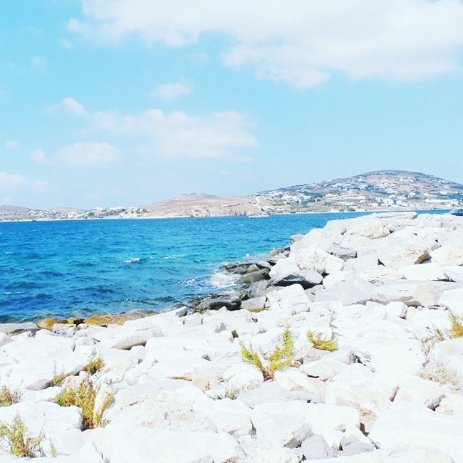 Jelena Zivanovic Instagram @lelazivanovic.Glam fab week.Paros island,blue waters.