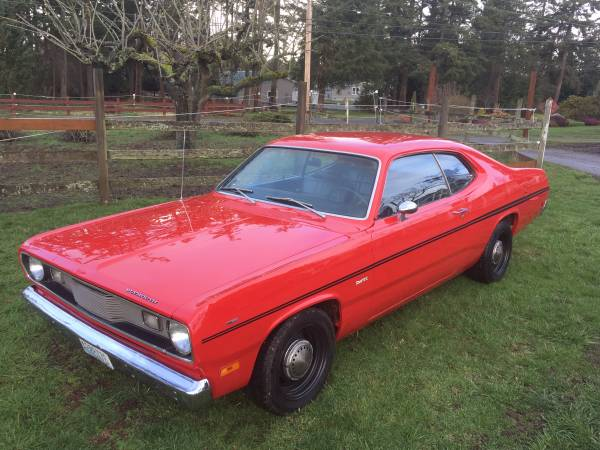1971 Plymouth Duster Rallye Red For Sale Buy American