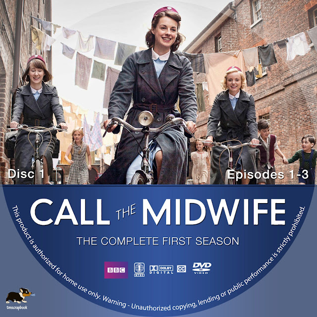 Call The Midwife Season 1 Disc 1 DVD Label