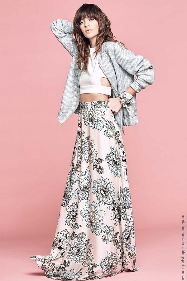 Moda ropa de mujer verano 2017 moda mujer 2017 faldas de moda.