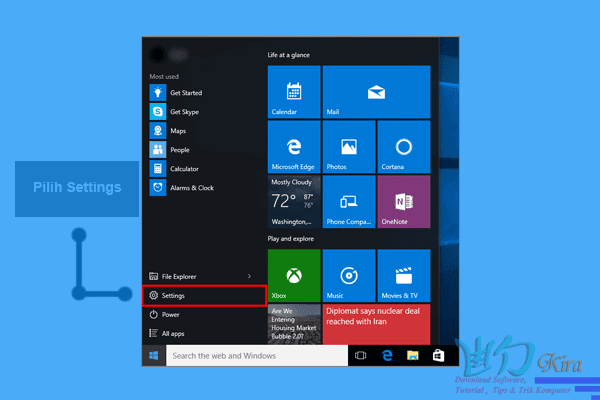 cara masuk safe mode windows 10 toshiba