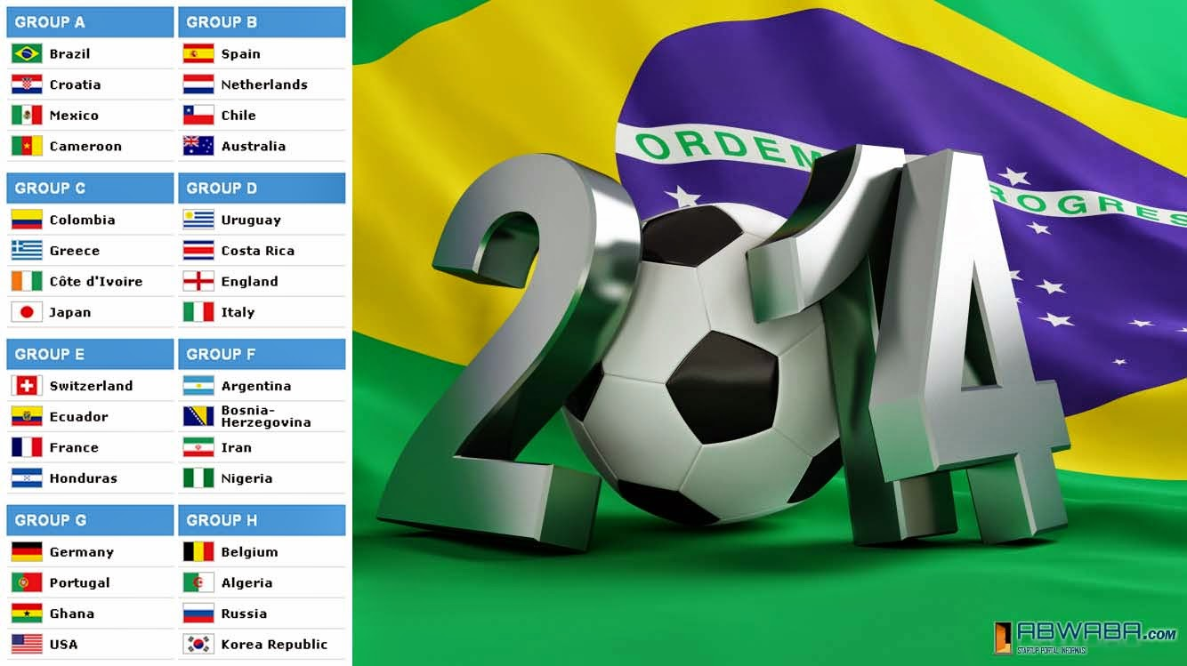 Download Jadwal Piala Dunia 2014 Excel