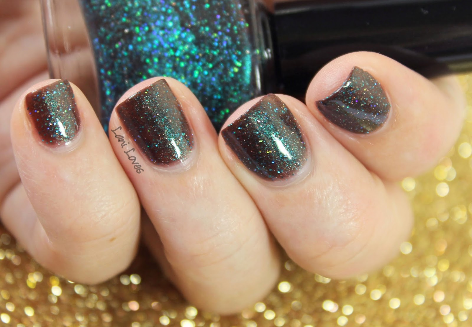 Femme Fatale Cosmetics In His House He Waits Dreaming nail polish swatches & review