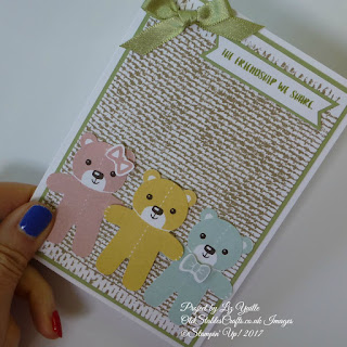 Cookie Cutter Christmas Teddy Bears - The Friendship We Share