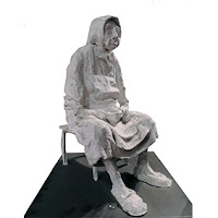 Anglés Francesc escultura, Museo Dalí escultura yeso