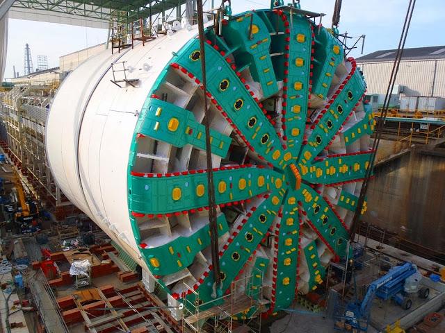 maior tuneladora do mundo