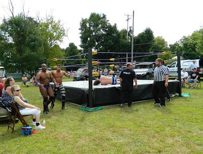 wrestling at Sumner Daze Festival