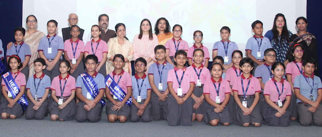Manav Rachna International School Charmwood organizes Investor Ceremonies in Faridabad