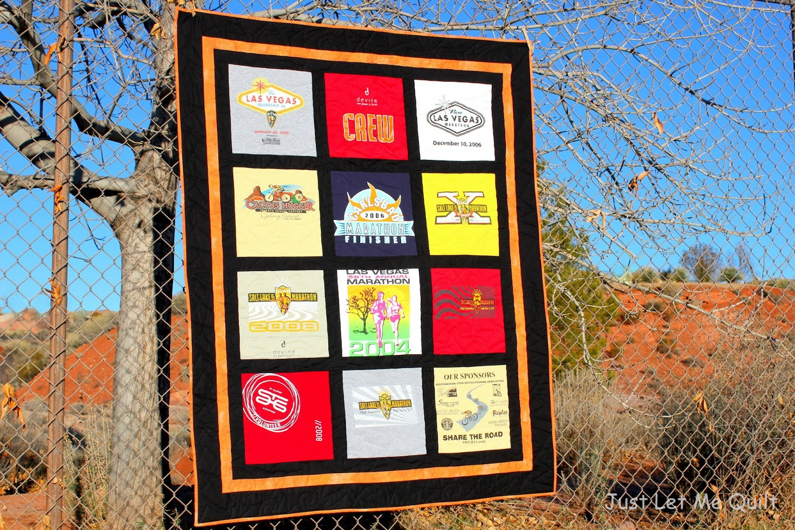 Just Let Me Quilt: Making Old T-Shirts Into A Sweet Memory Quilt