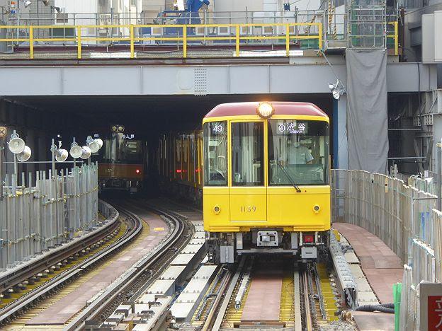 銀座線 渋谷行き5 1000系特別仕様車